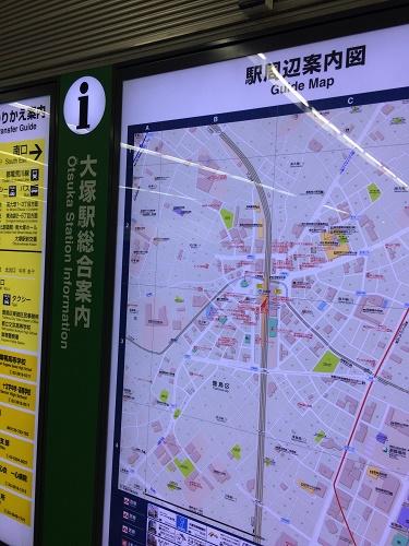 大塚駅 地図