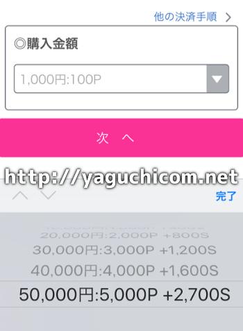 ワクワクメール クレジットカード 10万円