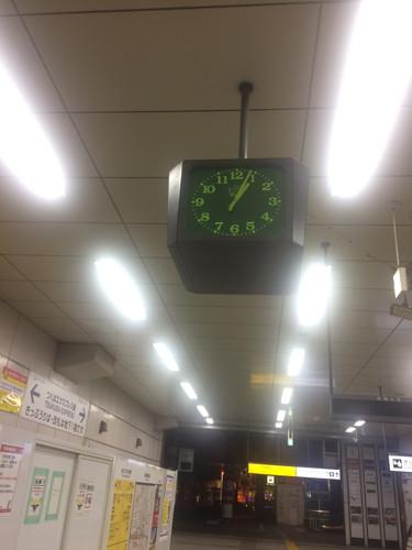秋葉原駅 終電