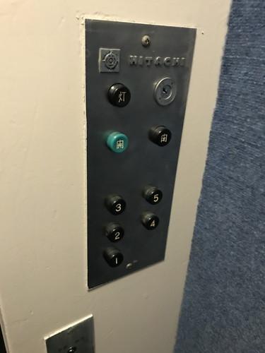 チェリー新橋のエレベーター